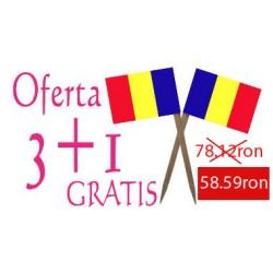 Oferta Scobitori cu Stegulet Romania 3+1gratis