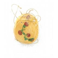 Ornamente Brad Ceramica Rotund
