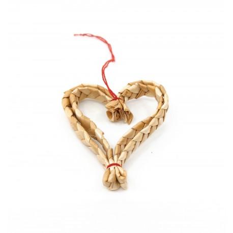 Ornament din paie Craciun M2