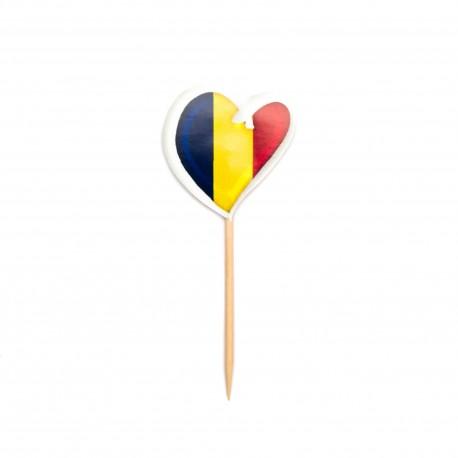 Stegulete Romania Inima Contur